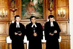 350 lecie_ks. M. Markuzel, ks. biskup M. Cieślar, ks. M. Pilch