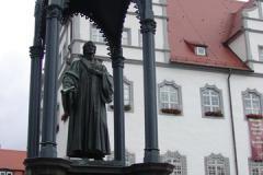 Witenberga_rynek_pomnik